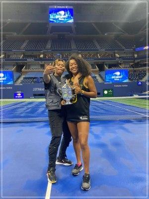 大坂なおみがUSオープンで優勝した時の彼氏で恋人のアメリカ人ラッパーYBNコーデーと写った2ショット画像