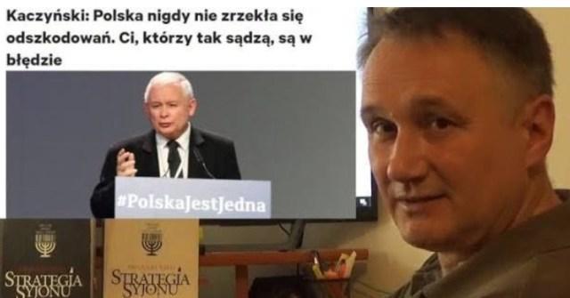 Dr Z. Kękuś (PPP 195) Jarosław Kaczyński oszukał 69% Polaków w sprawie odszkodowań od Niemiec