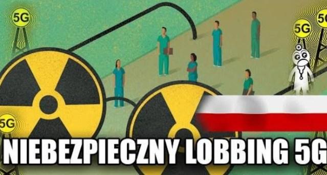 Lobbing 5G coraz bardziej niebezpieczny dla zdrowia Polaków!