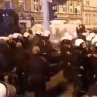 Brutalna pacyfikacja Marszu Polaków we Wrocławiu! Pod głupim pretekstem miasto rozwiązało zgromadzenie [VIDEO]