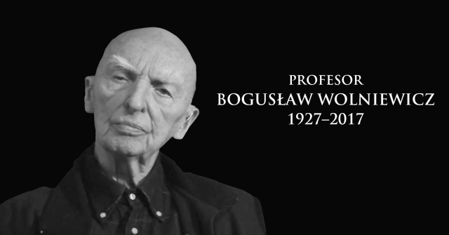 """profesor BOGUSŁAW WOLNIEWICZ"""