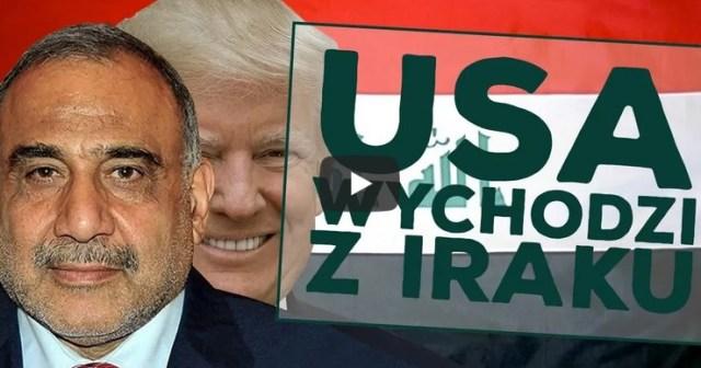 USA ma się wycofać z Iraku! Trump stawia warunki!