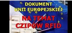 Unia Europejska przygotowuje się do wprowadzenia czipów RFID