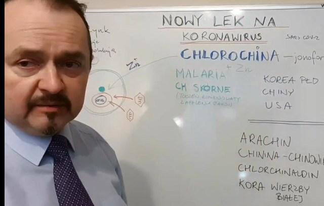 UWAGA WAZNA ANALIZA  – Chlorochina – nowe – stare lekarstwo na wirusa . Dobre wieści