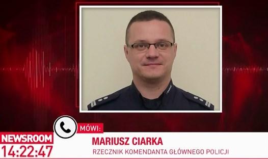 """Zmiany w prawie. Insp. Mariusz Ciarka mówi o """"poważnej karze"""" za znieważenie policjantów"""