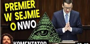 Morawiecki w Sejmie Wygadał Się Nowym Porządku Świata