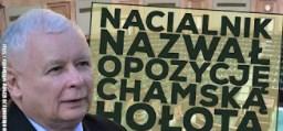 Jarosław Kaczyński nazwał opozycję chamską hołotą!