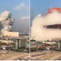 To materiały wybuchowe eksplodowały w Bejrucie. Dziesiątki zabitych, tysiące rannych, miasto zdewastowane. Nie żyje ważny polityk [FOTO/VIDEO] {Autor Gabi}