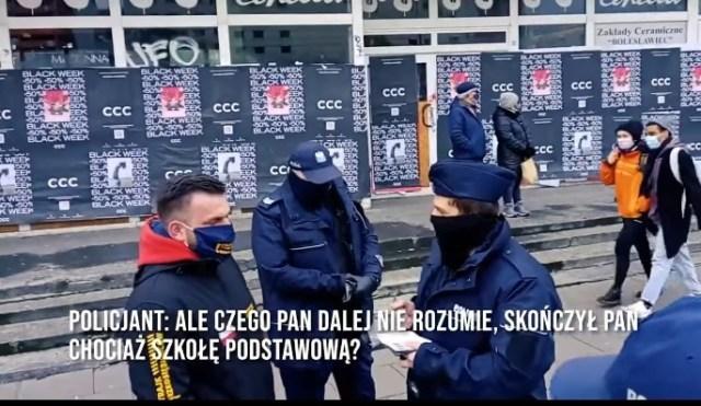 Michał Wojciechowski – Czy w czasach pandemii ,można palić na ulicy? K***a palmy dupą!