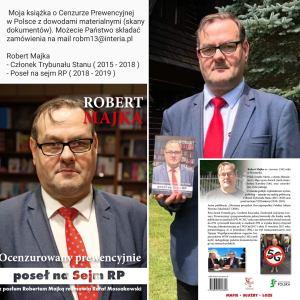 STREAM 01.03.2021 – PISOWSKA BLOKADA INFORMACJI PUBLICZNYCH KOMENTUJE ROBERT MAJKA + TEL WIDZÓW BEZ CENZURY