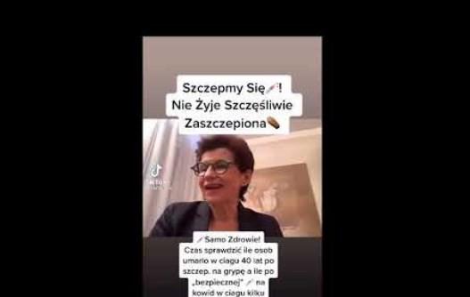Nie żyje poseł Anna Wasilewska…nieco wcześniej zaigłowana…i szczęśliwa z tego tytułu..