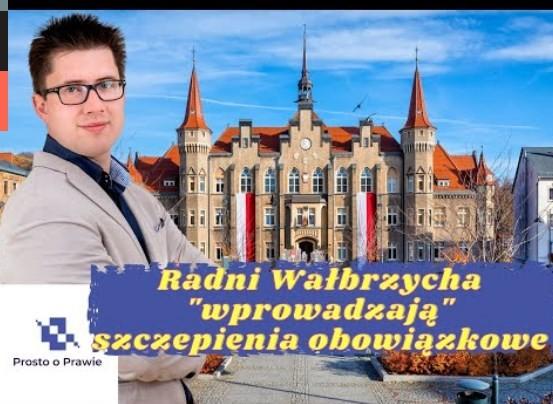 Czy radni z Wałbrzycha mogli podjąć uchwałę o szczepieniach obowiązkowych?