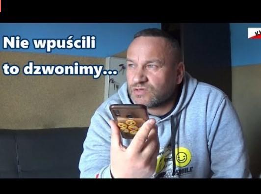SZOKUJĄCE ZARZADZENIA W Polsce funkcjonuje prawo czy wewnętrzne regulaminy? Szczepan dzwoni do Straży Granicznej