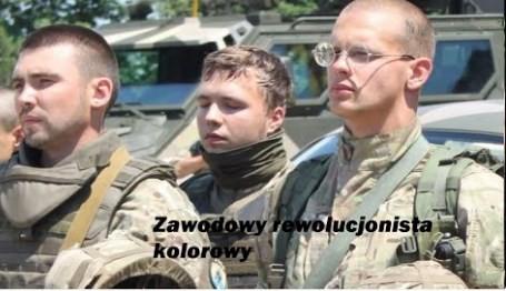 Protasiewicz, kolorowi rewolucjoniści i wątek polski