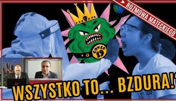 """dr Piotr Rubas: Bezobjawowi NIE ZARAŻAJĄ! Czy mamy nową chorobę? Kto finansuje """"ekspertów""""?"""
