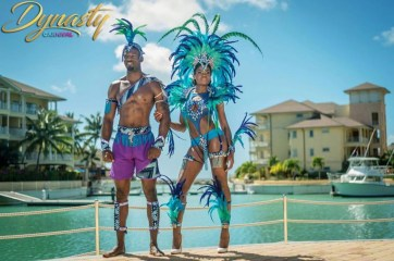 Dynasty Carnival Band for St. Lucia Carnival 2017
