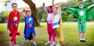 Super Kids Play Ground Concept