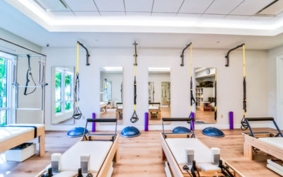 Mizner Country Club Pilates Room