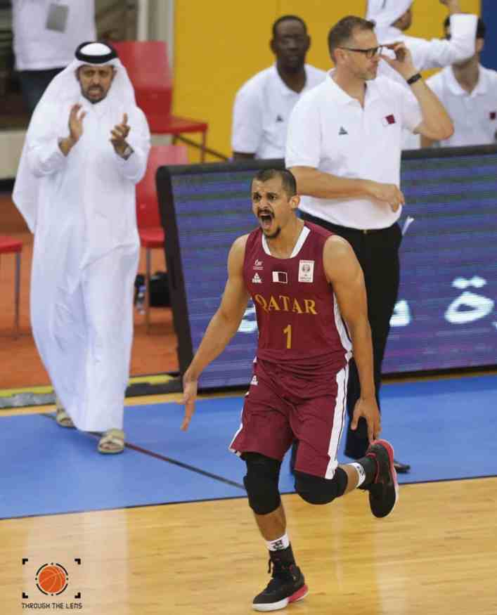 mizo amin buzzer beater roar keeping qatar strong