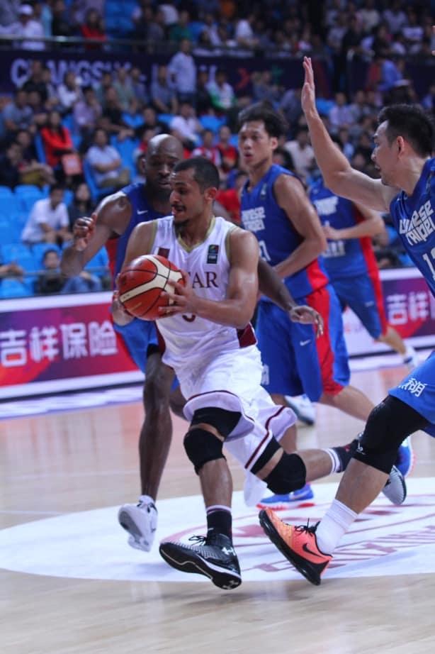 Mizo Amin from FIBA Asia championship 2015 vs Chinese Taipei team