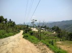 The road to Tuirial Airfield