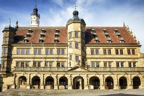 Rotheburg Rathaus-Front view