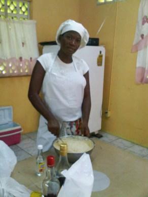 Cake making 9