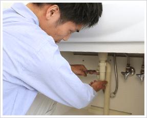 排水管のあらゆる水漏れ修理に365日対応!|水の生活救急車