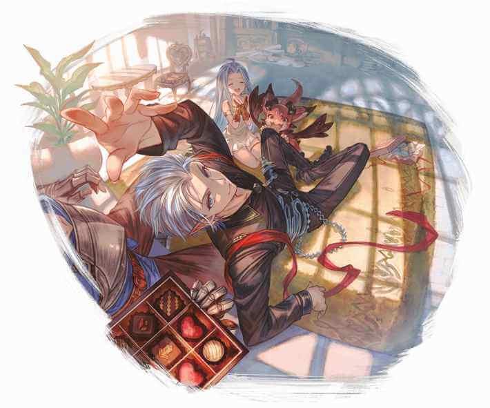 風属性 バレンタイングリームニル 季節限定 グラブル スマホ ゲーム攻略 ブログ 02