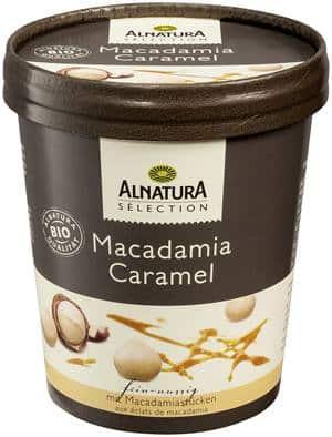 Alnaturaマカダミアキャラメルアイスクリーム