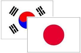 日本 韓国 Flag