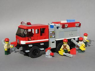 火事 消防車