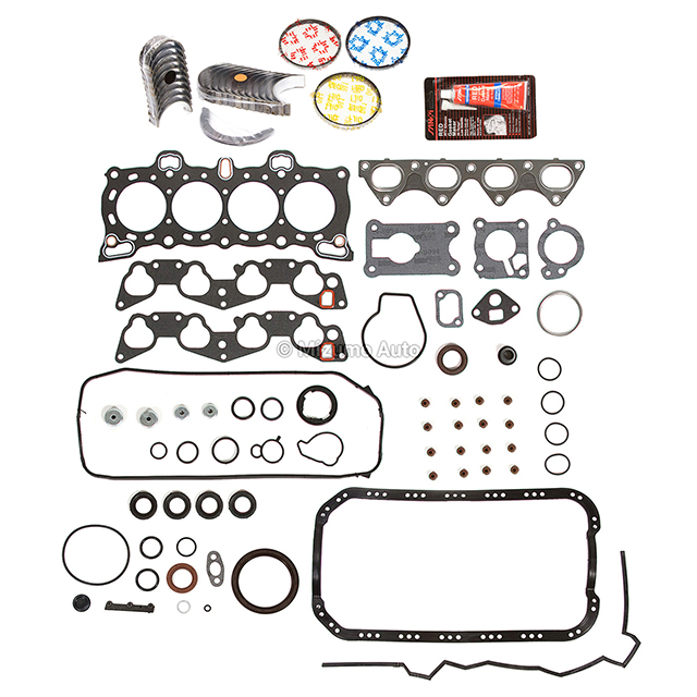 Engine Re-Ring Kit Fit 88-95 Honda Civic Del Sol D15B1