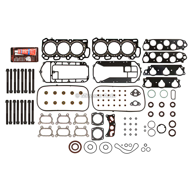 Full Gasket Set Head Bolts Fit 06-09 Acura MDX TL Honda