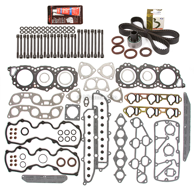 Head Gasket Set Timing Belt Kit Fit 86-93 Infiniti Nissan
