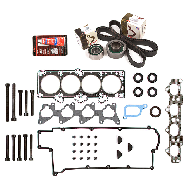 Head Gasket Set Timing Belt Kit Fit 96-97 Hyundai Elantra