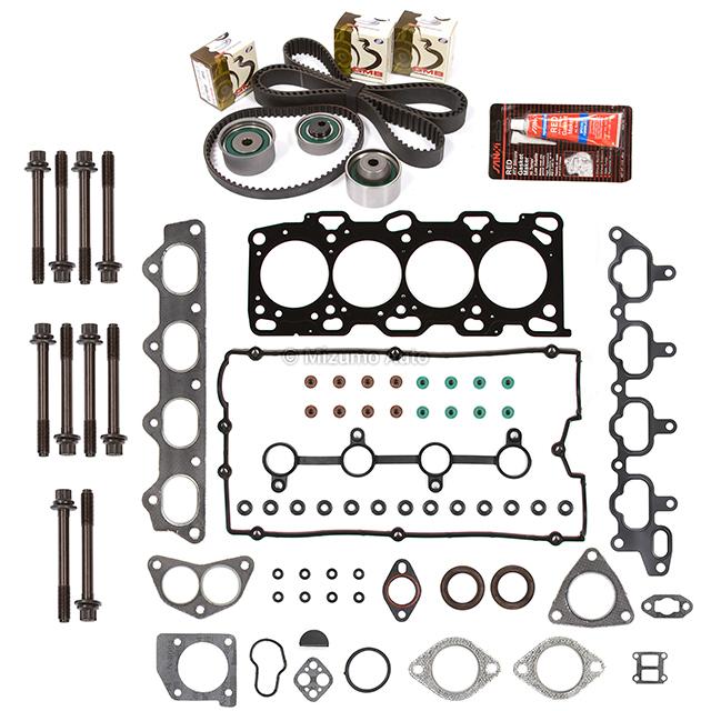 Head Gasket Set Timing Belt Kit Fit 99-06 Hyundai Kia
