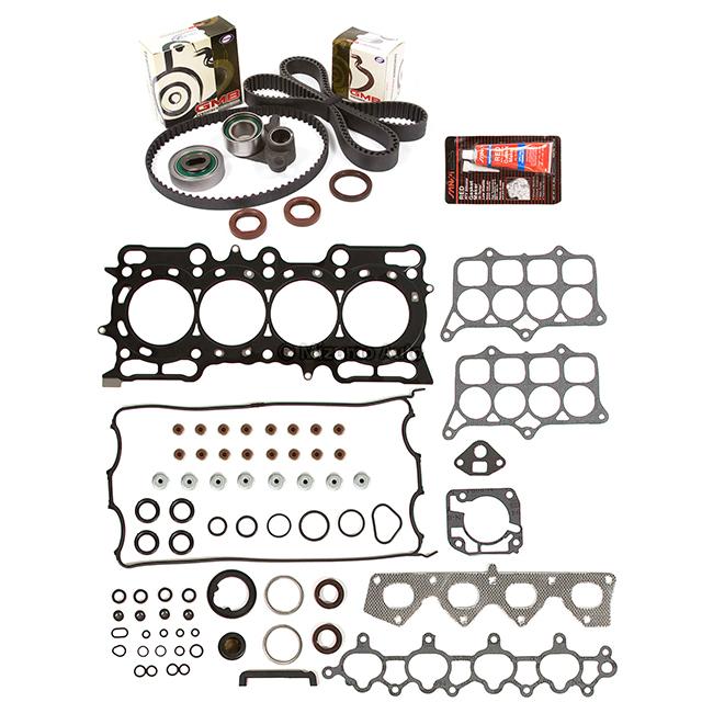 Head Gasket Set Timing Belt Kit Fit 97-01 Honda Prelude 2