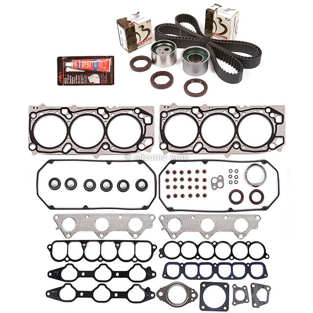 Head Gasket Set Timing Belt Kit Fit 03-06 Mitsubishi