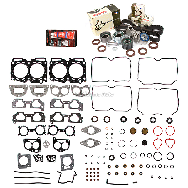 Head Gasket Set Timing Belt Kit Fit 04-11 Subaru 2.5 SOHC