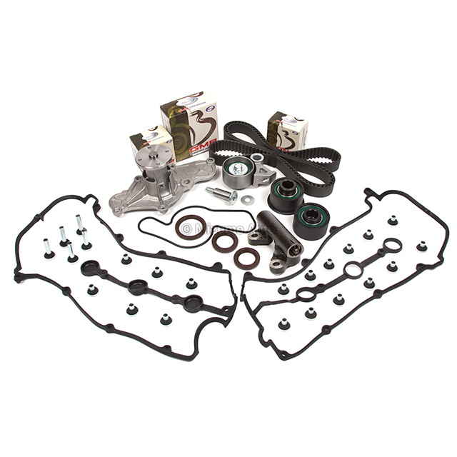 Timing Belt Kit Water Pump Valve Cover Fit 92-94 Ford