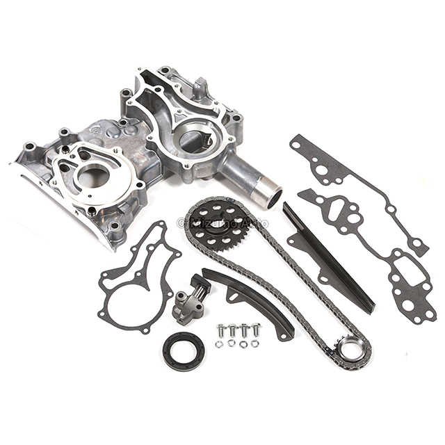 High Performance Timing Chain Kit Timing Cover Fit 85-95 2