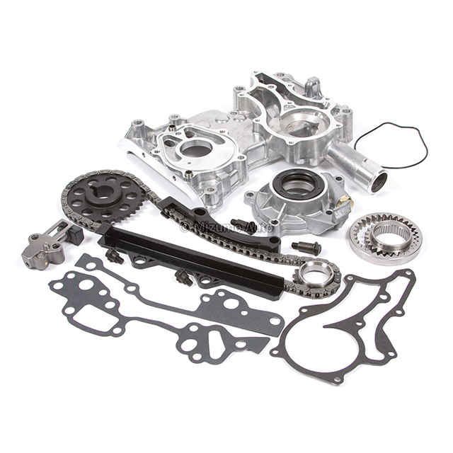 Timing Chain Kit Cover Oil Pump Fit 85-95 Toyota Celica