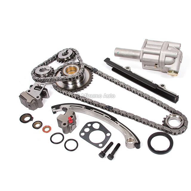 Timing Chain Kit Oil Pump Fit 98-04 2.4L Nissan Xterra