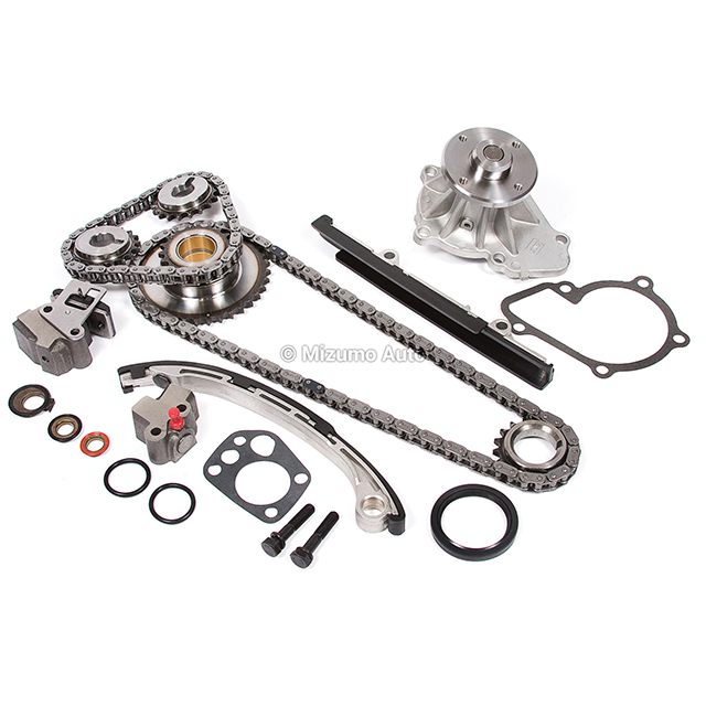 Timing Chain Kit Water Pump Fit 98-04 2.4L Nissan Frontier