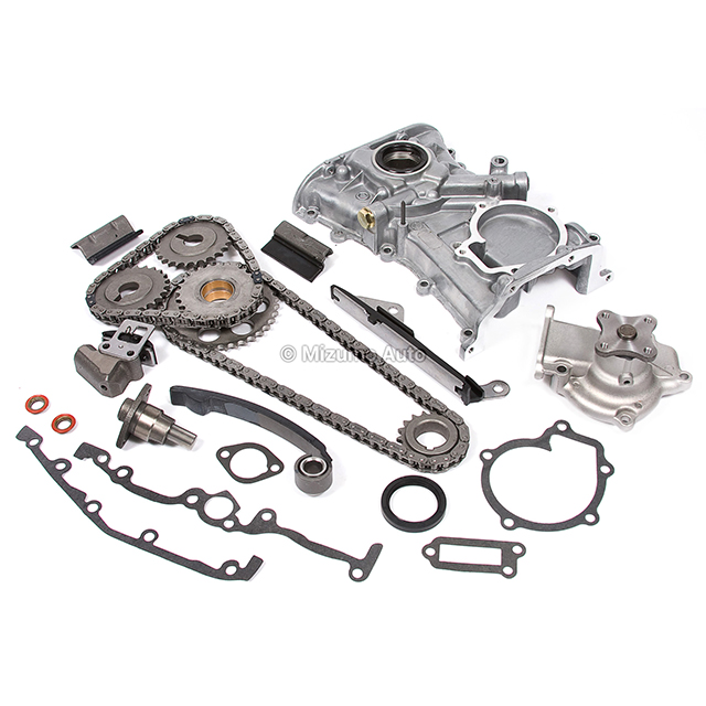 Timing Chain Kit Water Oil Pump Fit Nissan Sentra 200SX