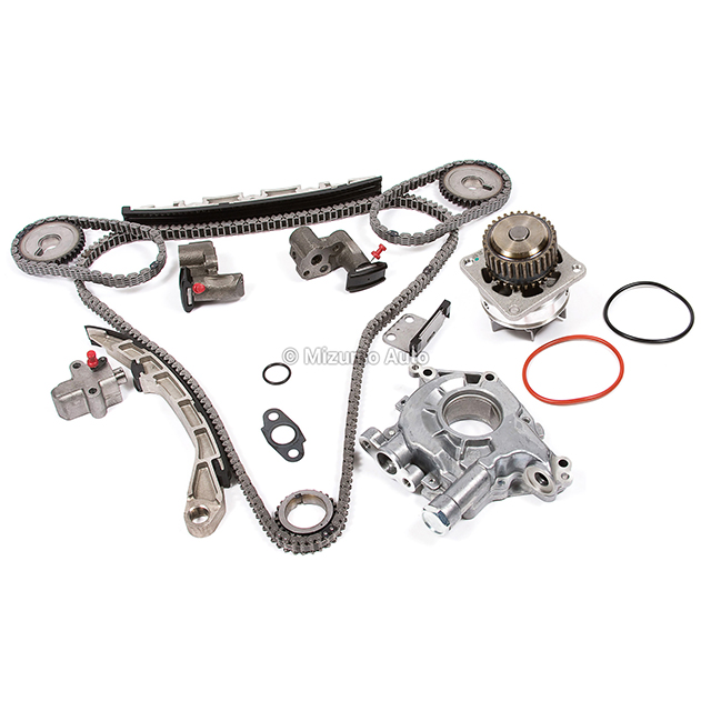Timing Chain Kit Water Oil Pump Fit Infiniti G35 Nissan