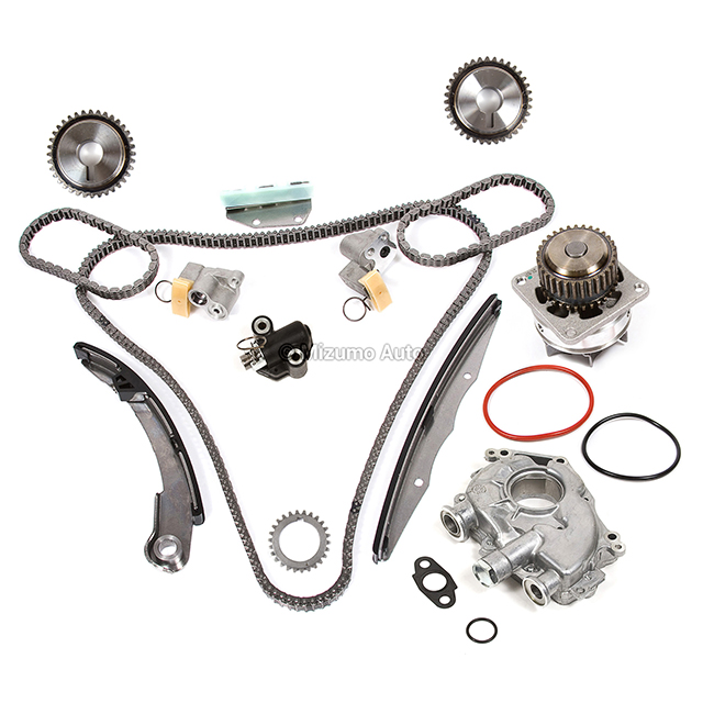 Timing Chain Kit Water Oil Pump Fit 05-10 Nissan Frontier