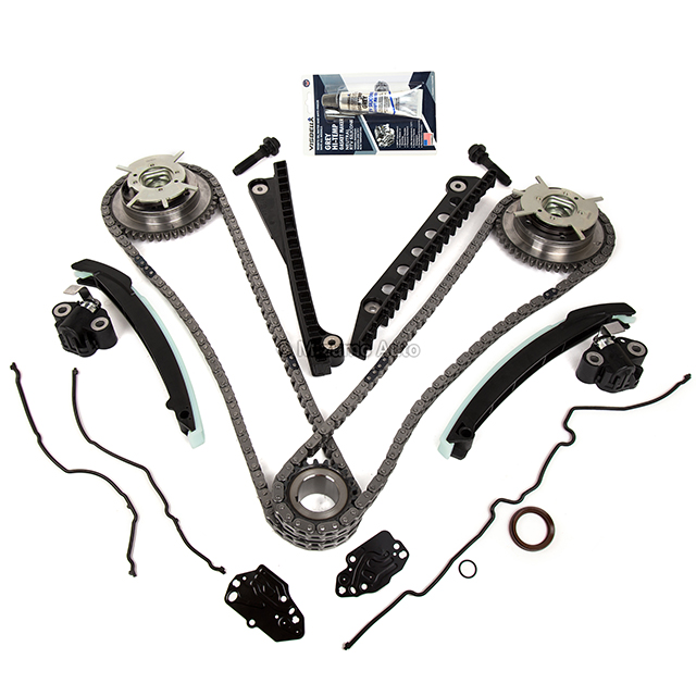 Timing Chain Kit Cam Phaser Fit 04-10 Ford F150 F250