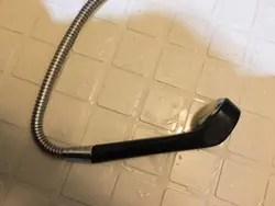 シャワーホース自体からの水漏れ